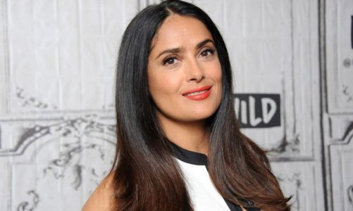 Salma Hayek's Blush Secret Makes Her Appearance Super Youthful