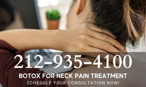 bad neck pain on left side