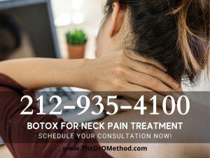 Botox neck pain treatment nyc