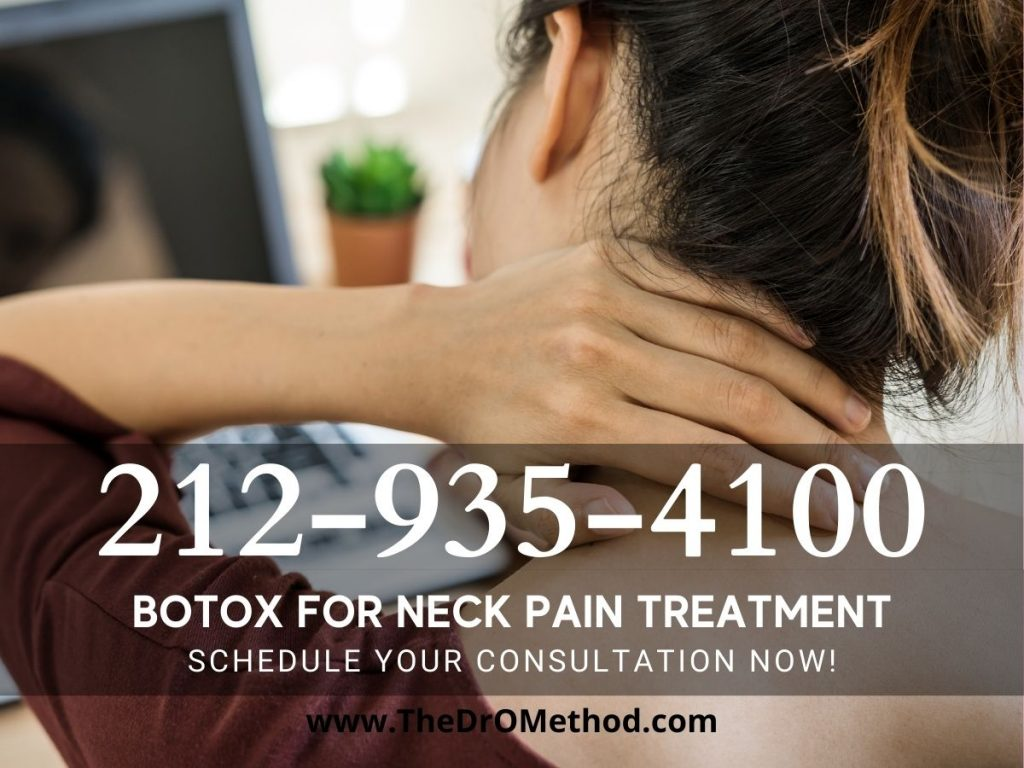 Neck pain relief Manhattan