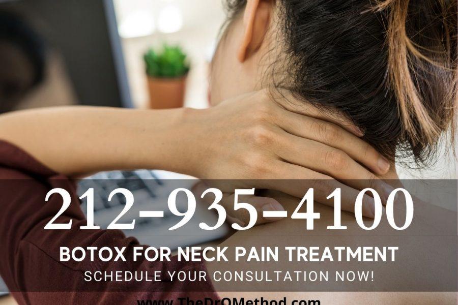 Botox for neck pain doctors Manhattan